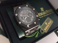 New Audemars Piguet AP off shore Automatic Watch, RUBBER STRAP