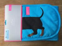 Joules blue dachund oven glove
