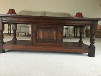 Old Charm Solid Wood Coffee Table