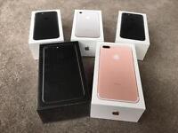 Apple iPhone 7/7 Plus - 32GB/128GB /256GB - BRAND NEW - Unlocked Sim Free - 1 YEAR APPLE WARRANTY