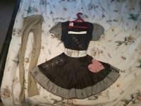 Ladies Broken Doll Halloween outfit