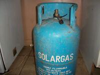 SOLARGAS BUTANE GAS BOTTLE (FULL!)