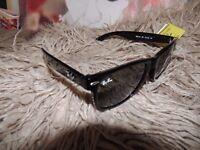 Ray Ban Wayfarer G15 Lens Black Sunglasses Sun Glasses UV lens Protect Ray-Ban