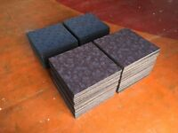 High Quality New Carpet Tiles (£1.25 Per Tile) - Various Quantities and Colours Available