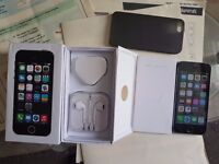 IPhone 5s 16GB Grey colour, box and accessories, locked to EE/Virgin