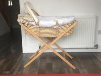 Deluxe Moses basket