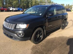 2015 Jeep Compass HIGH ALTITUDE 4X4 / HEATED LEATHER / SUNROOF /