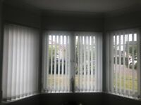 Vertical window blinds x 3 EXCELLENT condition smoke free clean home