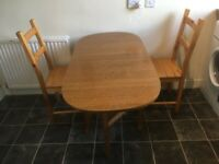 Foldable kitchen table £10