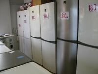 FRIDGE/ FREEZERS FROM ONLY £80 WITH WARRANTY