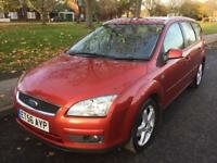 2007 FORD FOCUS GHIA TDCI (ESTATE) 1.8 DIESEL ONE FORMER KEEPER FULL DEALER SERVICE HISTORY