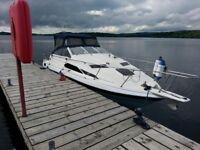 Bayliner 2455 - Mercruiser 2.8L Diesel Engine - 4 Berth Sports Cruiser Boat