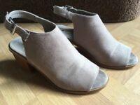 Oasis Open Toe Shoe Boots