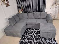 BRAND NEW DYLAN CORNER UNIT IN JUMBO CORD FABRIC OR 3+2 **NATIONWIDE DELIVERY**