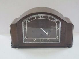 1930 mantle clock with white numerals