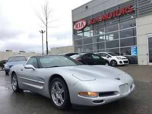 1999 Chevrolet Corvette LEATHER LOW KM'S LOADED BOSE STEREO CHRO