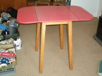 Kitchen Table and 2 Wooden Chairs