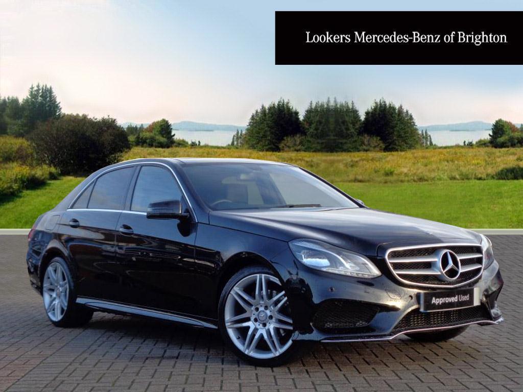 Mercedes Benz E Class E250 Cdi Amg Sport Black 2014 09