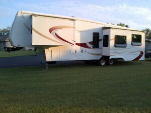 2007 DRV Select Suites 36RK3 5th wheel trailer