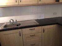 Kitchen Units, Worktop, Sink, Oven & Hob