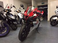 Yamaha YZF R 125cc Super Sport Motorcycle, ABS, Alarm, V Good Condition, ** Finance Available **