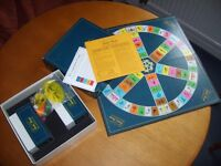 1980s Trivial Pursuit game