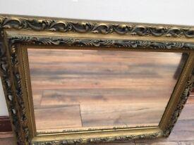 Ornate Gold framed Mirror