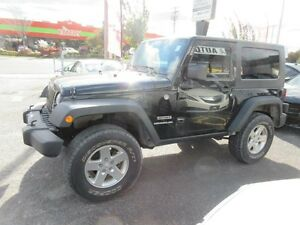 2010 Jeep Wrangler MOUNTAIN Trailrated 4X4 ($79 WKLY. 2 Doors, m Gatineau Ottawa / Gatineau Area image 8