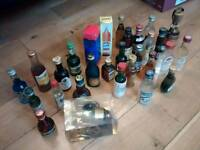 Vintage Miniature Small Bottle Collection