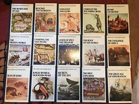 12 Discovery and Exploration Reader's Digest books