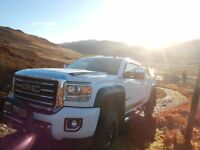 GMC SIERRA GFX 3500HD 6.6TURBO DIESEL, SUMMIT WHITE