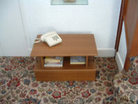 HIFI/Television low level Table/Stand Wood effect