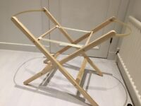 Clair De Lune Moses basket Stand - Immaculate Condition