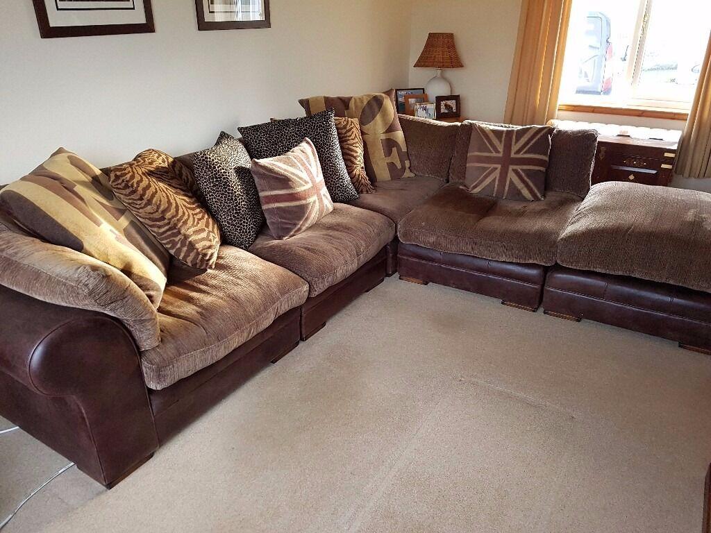 Dfs Columbus Corner Sofa And Chair In Falkirk Gumtree