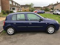 Renault Clio 1.2 blue 5 door