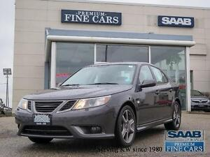 2011 Saab 9-3 AWD ONE OWNER 74530 KM'S 2.0L TURBO
