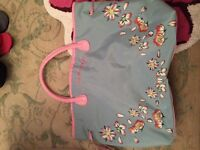 Brand new summery floral bag