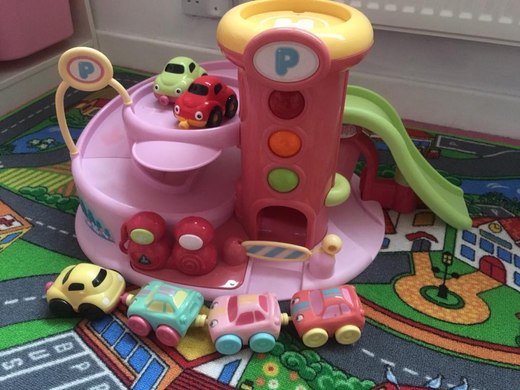 ELC Pink Car Wash Track