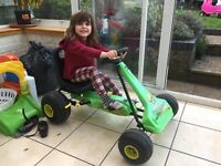 Go kart for ages 4-6 hardly used