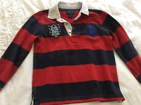 Boys Ralph Lauren polo top 4-5 years