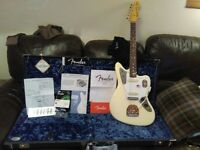 FenderJohnny Marr signature Jaguar Olympic White 3 months old REDUCED ! £1400 o.v.n.o. barely played