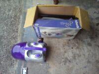Morphy richards compact vacuum cleaner 1400 watt working order