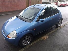 Ford KA with low mileage