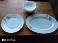 Fine porcelain set beautifully decorated