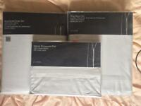 House of Fraser linea King Duvet Bed Linen Set as below: