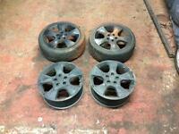"17"" 5x110 Vauxhall/Saab se2 alloy wheels"