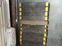 Heras fence hi-viz feet blocks