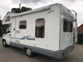 Fiat Motorhome Turbo Diesel 9,000 miles from new and Full Service History