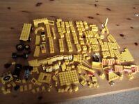 Yellow lego bricks