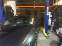 Tyres and Puncture repair and alloys E1